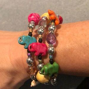Jewelry - 🐘 tribute to Elmer the Elephant bracelet